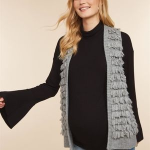 Jessica Simpson Sweaters - Jessica Simpson Embellished Maternity Sweater Vest